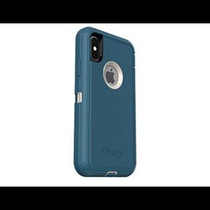 Otterbox defender for iPhone X w/ belt clip